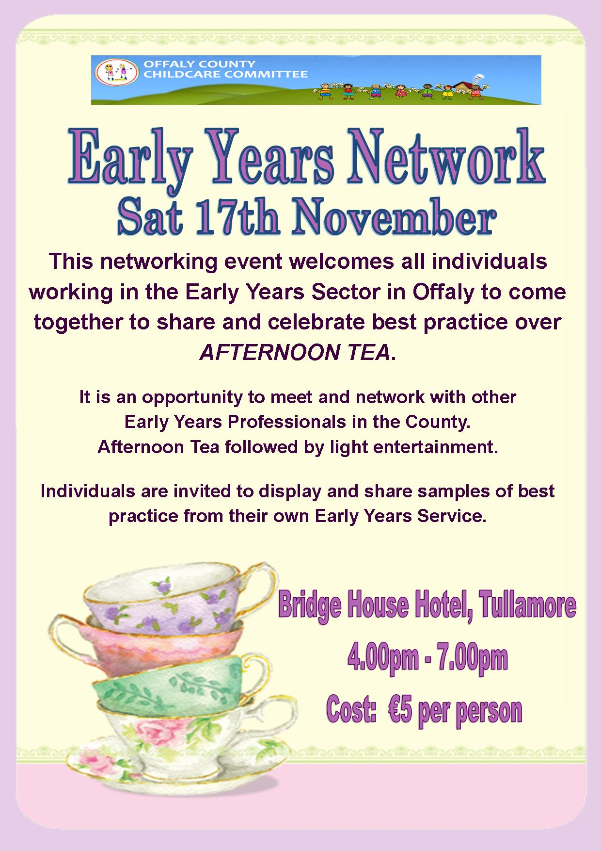 Early Years Network poster