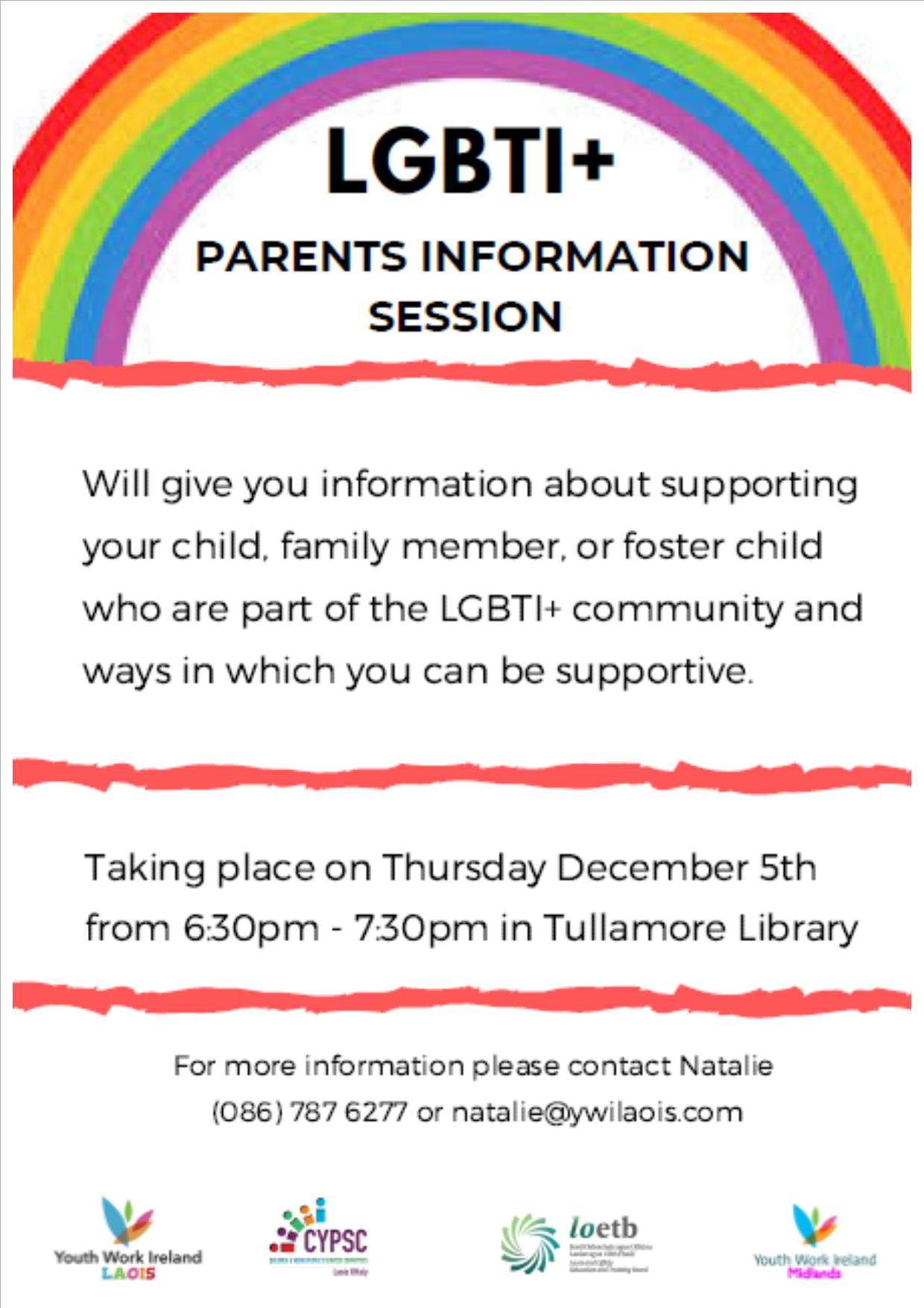 LGBTI Parents information session