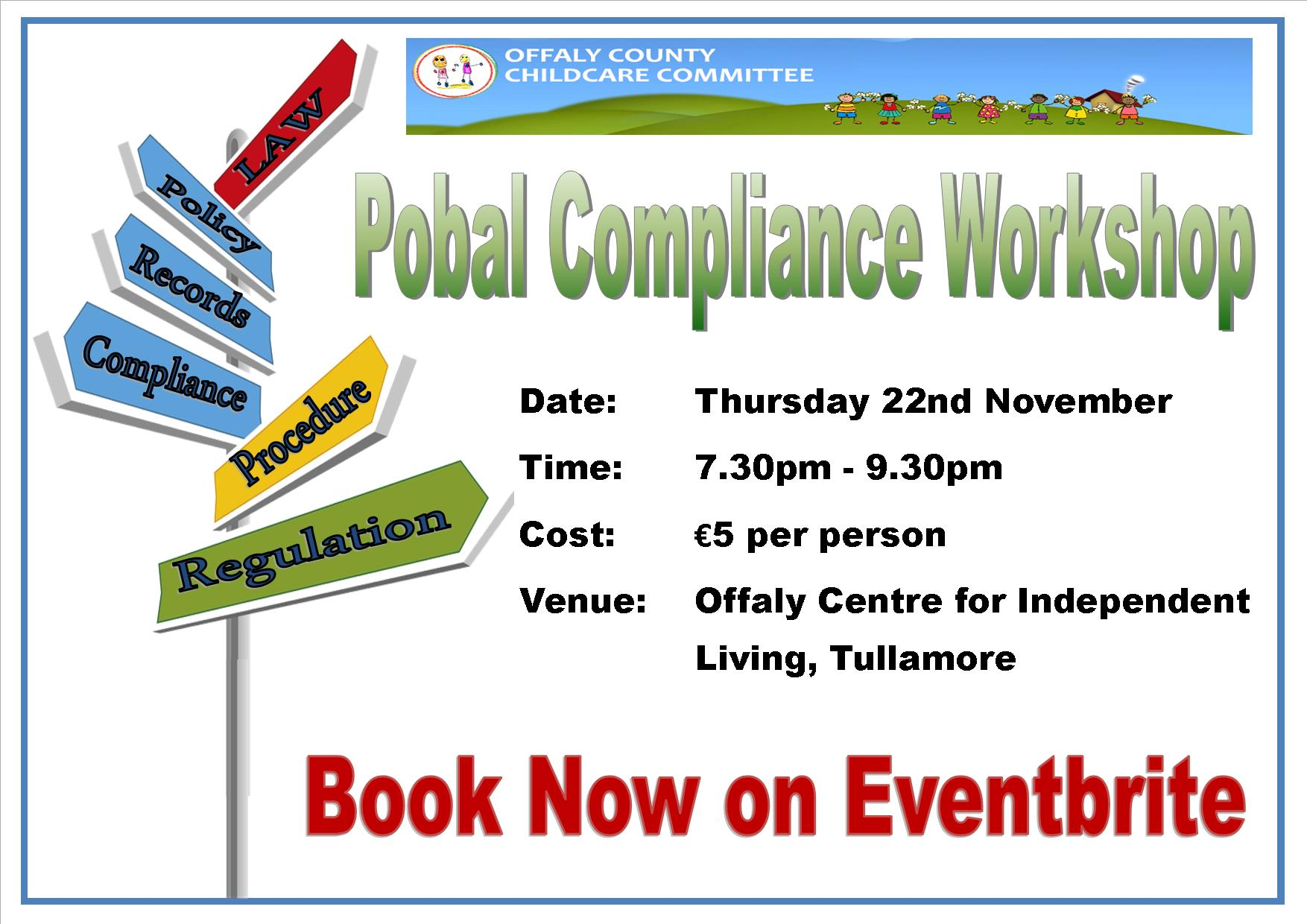 Pobal compliance workshop