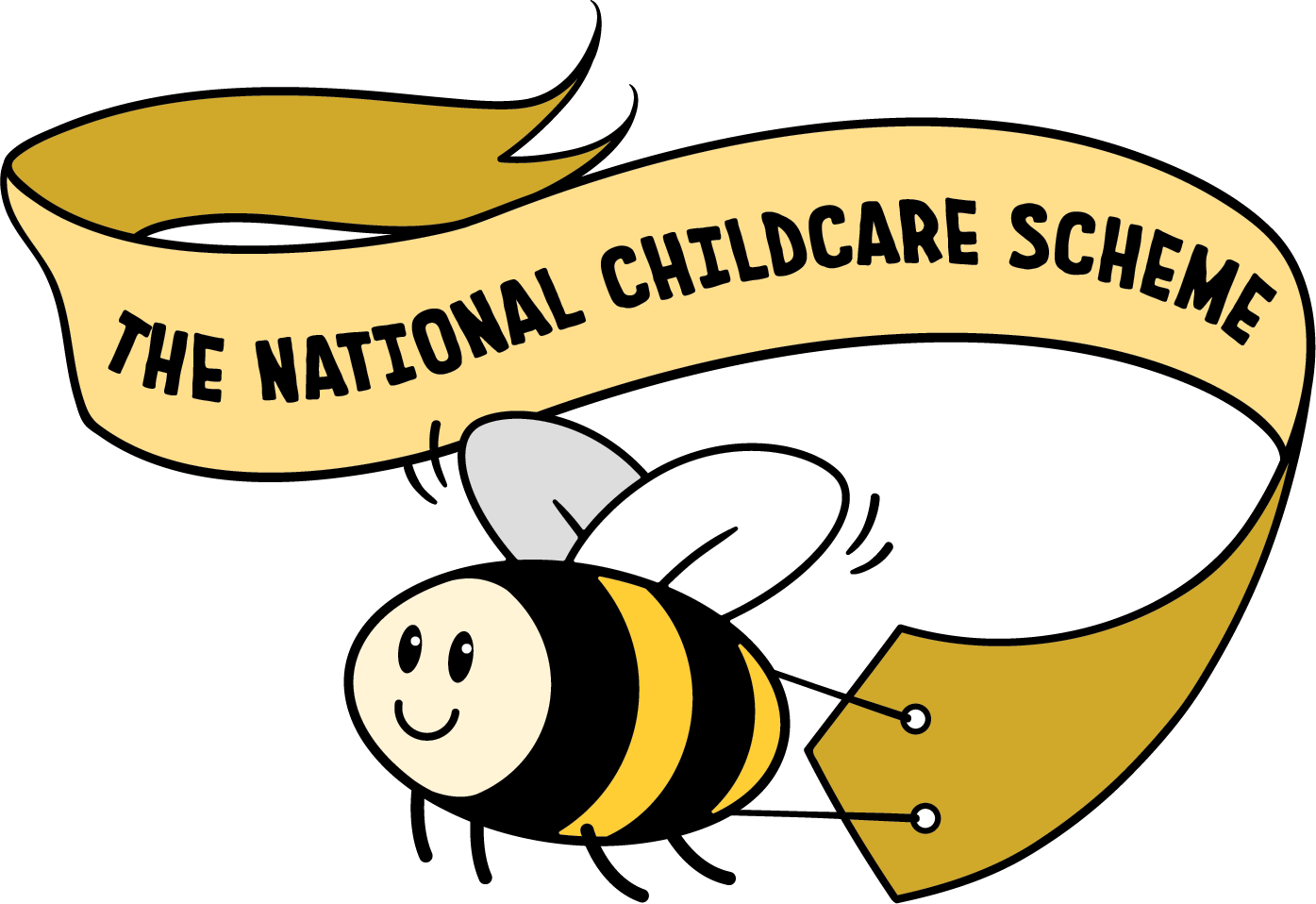 bee banner National childcare scheme